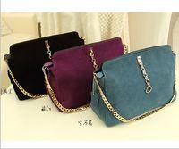 Women handbag leather - Retro Vintage Ladies Real Leather Shoulder Bags Purse Handbag Totes handbags with Wallet colors Good Price High Recommendation