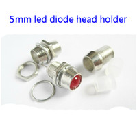 Wholesale 30pcs metal holder for mm led diode head