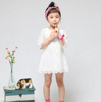 2T-3T Summer Short Sleeve Wholesales 2013 summer new Baby, Kids Clothing Children's girls skirts dance lace dress ZS-167--