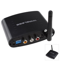 wireless video camera transmitter receiver - 2 GHz Wireless Channel Audio Video Transmitter and Receiver for DVD DVR CCD camera IPTV H504
