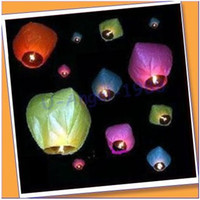 Sky Lantern Holiday  Free Shipping 10pcs lot heart Sky Lanterns, Wishing Lamp SKY Chinese Lanterns fire balloon for Birthday Wedding Party
