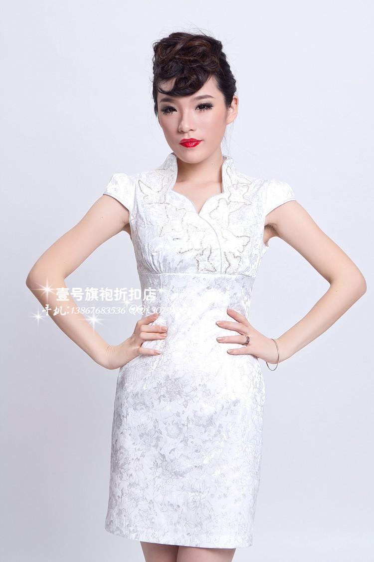 White Evening Dresses Knee Length - Prom Dresses Cheap