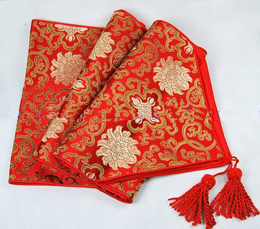 120 inch extra long party table runners red damask for 120 table runner christmas