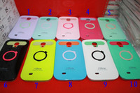 Silicone i-glow cases - i Glow iglow luminous night glow stents phone case cover skin shell for Galaxy S4 i9500 case with retial pacage churchill Only
