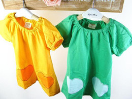 Wholesale Spring New Cotton Baby Girls Dresses Kids Clothing Colors acp