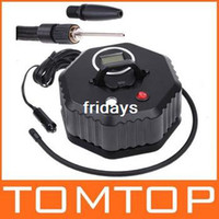 Wholesale 12V Car Auto Electric Pump Air Compressor Tire Inflator PSI dropshipping
