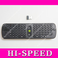 Wholesale Measy RC11 Air Mouse Russian Keyboard GHz Wireless Gyroscope Handheld Remote Control for android TV BOX PC Laptop Tablet Mini PC Game