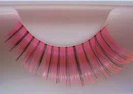 Cils de scène à vendre-20 paires / lot de nouveaux cils faits à la main rose / faux cils noir superbe exagération scène mariage fête maquillage