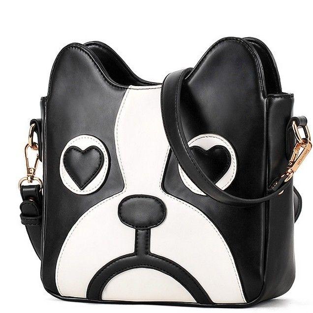 Designer Black Crossbody Bags For Women Shoulder Bag Pu Leather ...