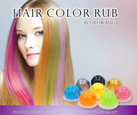 Temporary Chalk 5g Temporary Hair Dye Hair Chalk Bug Rub Hair Chalk Ball 12colors Fashion Hair Coloring Option Hair Color