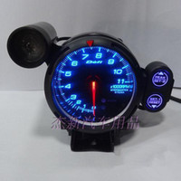 Wholesale Modification tachometer car tachometer inch mm auto refitting instrument DEFI tachometer