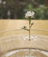 Wholesale Creative Floating Ripple Vases Make Flowers Dance On Water ABS Floating Ring Flower Vase