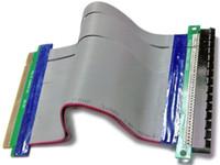 Wholesale Flexible cable X16 PCI Express connector PCI E cable Riser Card SLOT Extender Adapter Total long cm Cable cm