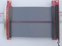 Wholesale Flexiblehigh quality PCI Express Riser Card via Flexible cable connector X PCI E Extender For mini PC Case PT318