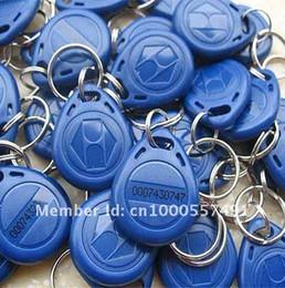 Free shipping,RF proximity EM card key fob 125kHz,shape card,key fob tags min:100pcs