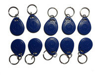 Wholesale RFID EM card key fob re writable Khz EM4305 Rfid Copy Card shape card keyfob tags min