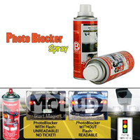 0   Pair of License Plate Reflective Spray Invisible Spray PhotoBlocker Anti-photo Anti-shoot Spray