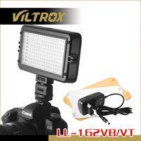 Wholesale LL VB VILTROX W Adjustable Brightness LED Video Light Lamp for Camera Camcorder