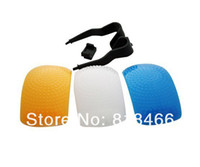 Wholesale tracking number Color Pop up Flash Diffuser For Nikon D90 D7000 D5100 D3000 D80 D70 D60 D3100