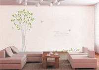 Wholesale 2 Olive Tree and Dove Tree wall Sticker Decal Home Art Decor Decoration