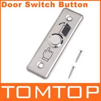 Wholesale Stainless Steel Door Exit Push Release Button Switch for Access Control freeshipping H4532