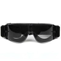 Wholesale Black Hunting USMC Airsoft X800 Tactical Goggle Glasses GX1000 Clear Wind Dust Protection