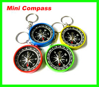 Wholesale Best Price metal acrylic material compass pocket mix color help you prevent from lossing
