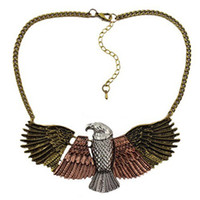 Wholesale Hot Sale Chokers Necklace Fashion Euro American Style Eagle Pendant Necklace Brand Designer Jewelry P285
