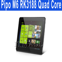 Wholesale PIPO M6 pro M6pro G inch GPS tablet PC RK3188 Quad core tablet pc GHz IPS Retina Android GB GB ROM x1536 Dual Camera HDMI