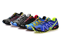 Wholesale 2013 new arrival salomon Running shoes men man sport men running shoes mens sneakers with box Size colorway