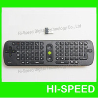 Wholesale RC11 mini fly air mouse a RC11 GHz wireless keyboard Google Android Mini PC TV online player box r6s hi802 s21h bravissimo