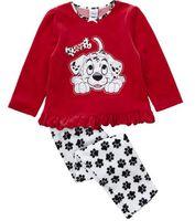Wholesale dogs girls pajamas toddler suits kids sleepwear boys pyjama Sets Children s Pajamas tshirts underwear cotton tees shirts jumpers Z273
