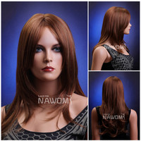 Cheap European Wigs hair wigs Best straight Christmas synthetic hair