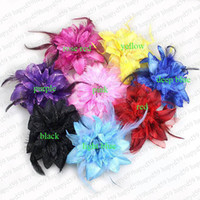 Belly Dancing arm corsage - free ship belly dance head flowers headdress corsage hand flower wedding arm flower