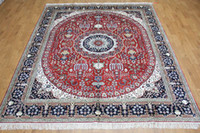 Wholesale 8 x10 Antique Handmade Persian Silk Rug With Bedroom Furniture B8x10