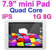 Wholesale 7 Inch Mini Pad PC IPS Android Quad Core Bluetooth Mini Tablet PC GB RAM GB Thin Wifi HDMI Q79