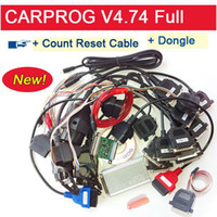 lexus parts - 2015 New Arrival Newest Carprog Full v4 with part Carprog Programmer Repair Tool Car prog New Added Count Reset Cable and Dongle