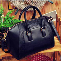 Wholesale Promotion Women retro handbags PU leather crocodile pattern designer handbag shoulder bag bag lady fashion summer bags totes
