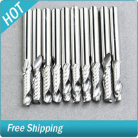 Wholesale 10 quot Single Flute Carbide Engraving CNC Router Bits