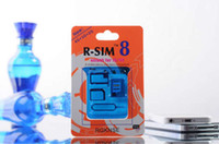 Wholesale Newest R SIM unlock sim Smart blue chip for iphone s ios7 GSM CDMA SPRINT