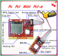 Wholesale Pc Pci Mini Pci e lpc Port Diagnostic Test Debug King Post Card For Laptop And Desktop
