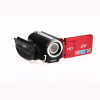 Wholesale USB LCD quot HD Mini Digital Video Camera DV Camcorde MP Aluminium BTY Red