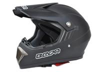 Wholesale no lens off road helmet motorcross mountain bike helmets black BEON knightRacing helmet motorbike helmet