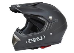 no lens off-road helmet motorcross mountain bike helmets black BEON knightRacing helmet motorbike helmet