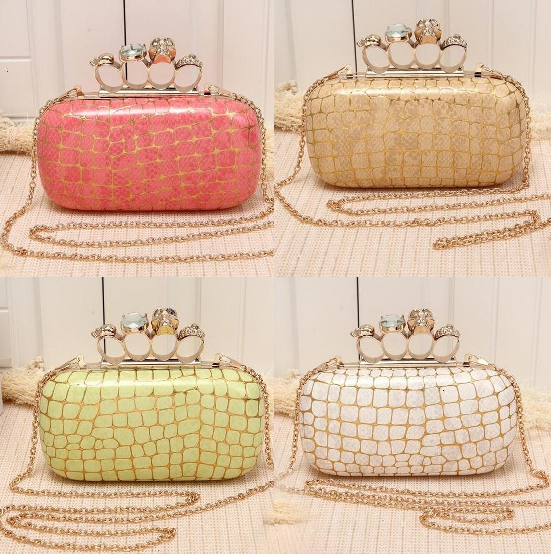 Popular Knuckle Womens Evening Clutch Designer Clutch Handbags ...