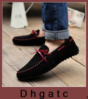 Wholesale New Arivall Fashion Casual Leather driving Shoes Mocassins Soft and Comfortable Loafers For Men s1