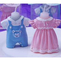 Wholesale New Arrival Cute Baby Dress Candle Favor Baby Shower Birthday Gifts