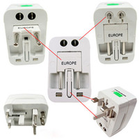 Wholesale All in One Universal Travel Power Plug Adaptor Converter fit for US UK EU AU New
