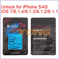 Wholesale Original R SIM Seconds Unlock Card for iPhone iPhone S iOS iOS7 CA0004