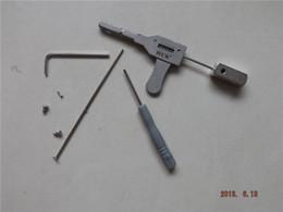 Wholesale New style king quin lever disc lock opening tool door lock opener bump key padlock tool H081